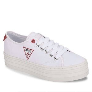GUESS white sneakers